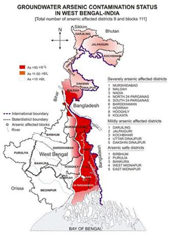 Groundwater arsenic  Menance in India